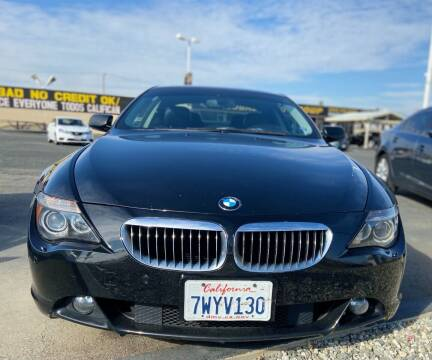 2007 BMW 6 Series for sale at Global Auto Group in Fontana CA