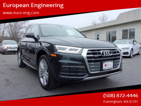 2018 Audi Q5 for sale at European Engineering in Framingham MA