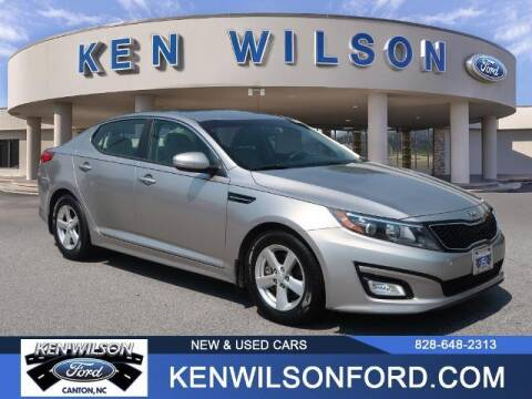 2014 Kia Optima for sale at Ken Wilson Ford in Canton NC