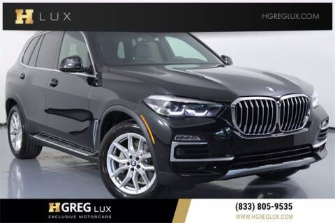 2021 BMW X5 for sale at HGREG LUX EXCLUSIVE MOTORCARS in Pompano Beach FL