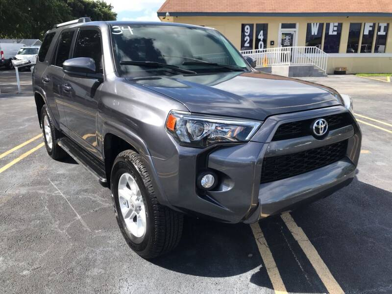 2019 Toyota 4Runner for sale at LKG Auto Sales Inc in Miami FL