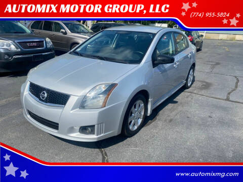 2011 Nissan Sentra for sale at AUTOMIX MOTOR GROUP, LLC in Swansea MA