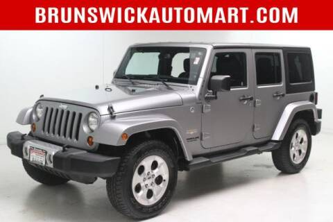 2013 Jeep Wrangler Unlimited for sale at Brunswick Auto Mart in Brunswick OH