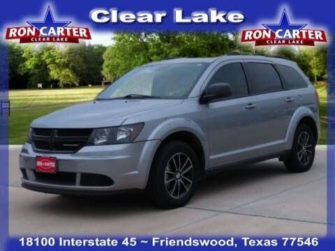 2017 Dodge Journey for sale at Ron Carter  Clear Lake Used Cars in Houston TX