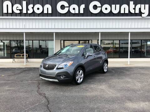2015 Buick Encore for sale at Nelson Car Country in Bixby OK