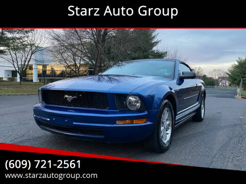2008 Ford Mustang for sale at Starz Auto Group in Delran NJ