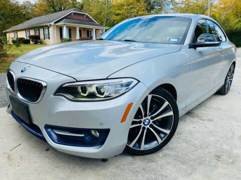 2014 BMW 2 Series for sale at Cobb Luxury Cars in Marietta GA