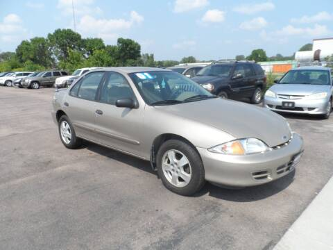 2001 Chevrolet Cavalier for sale at America Auto Inc in South Sioux City NE