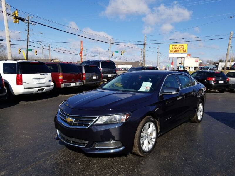 2014 Chevrolet Impala for sale at Rucker's Auto Sales Inc. in Nashville TN