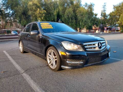 2013 Mercedes-Benz C-Class for sale at ALL CREDIT AUTO SALES in San Jose CA