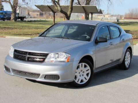 2014 Dodge Avenger for sale at Highland Luxury in Highland IN