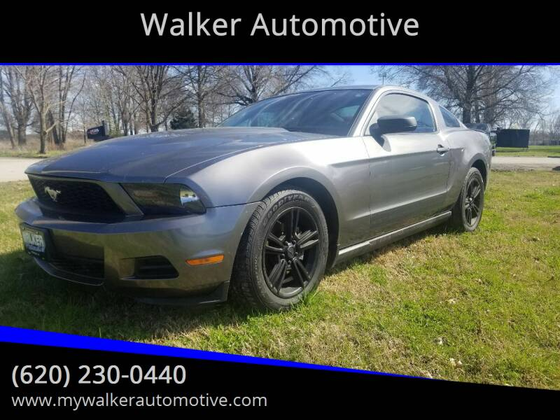 2010 Ford Mustang for sale at Walker Automotive in Frontenac KS