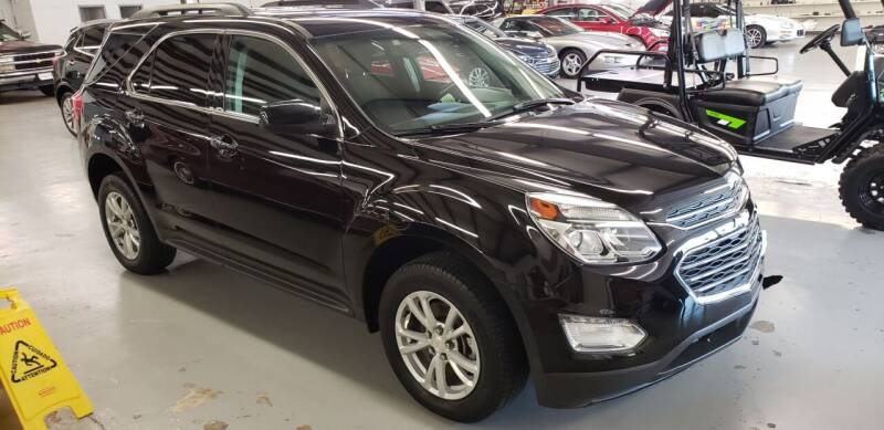 2017 Chevrolet Equinox for sale at Adams Enterprises in Knightstown IN