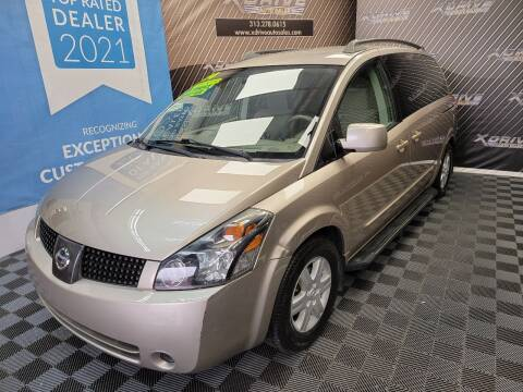 2004 Nissan Quest for sale at X Drive Auto Sales Inc. in Dearborn Heights MI