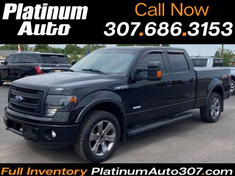2013 Ford F-150 for sale at Platinum Auto in Gillette WY