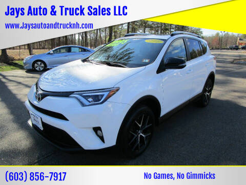 2016 Toyota RAV4 for sale at Jays Auto & Truck Sales LLC in Loudon NH
