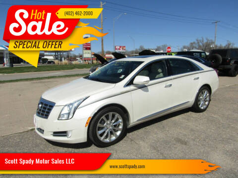 2013 Cadillac XTS for sale at Scott Spady Motor Sales LLC in Hastings NE