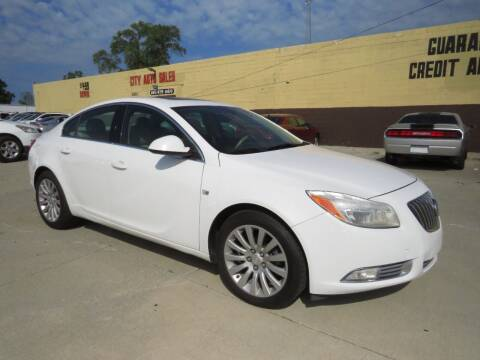2011 Buick Regal for sale at City Auto Sales in Roseville MI