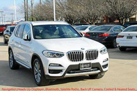 2018 BMW X3 for sale at Silver Star Motorcars in Dallas TX