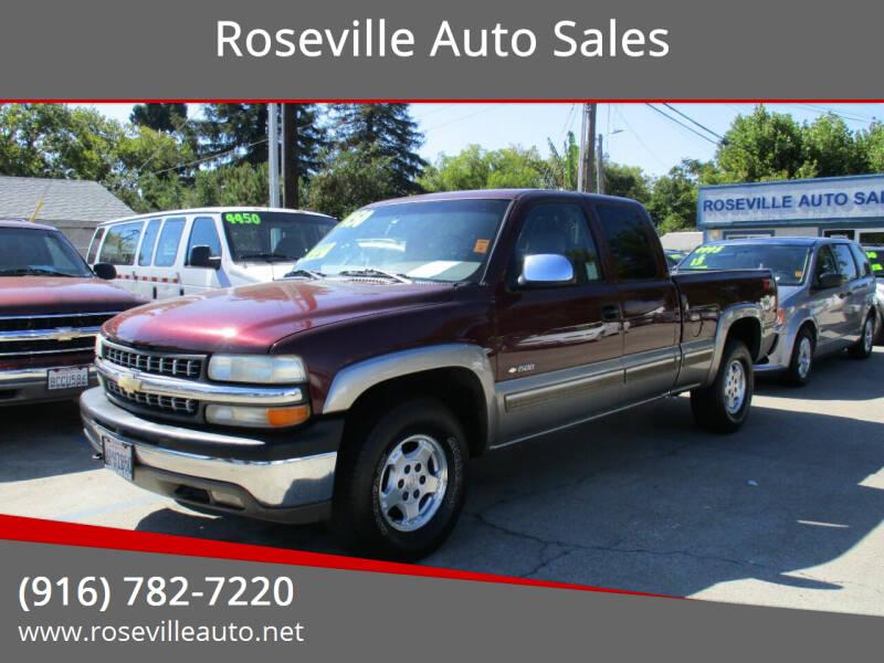 2001 Chevrolet Silverado 1500 for sale at Roseville Auto Sales 131 in Roseville CA