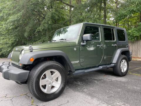 2008 Jeep Wrangler Unlimited for sale at Peach Auto Sales in Smyrna GA