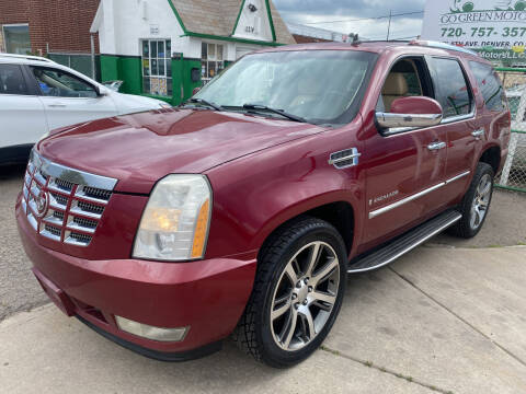 2007 Cadillac Escalade for sale at GO GREEN MOTORS in Denver CO