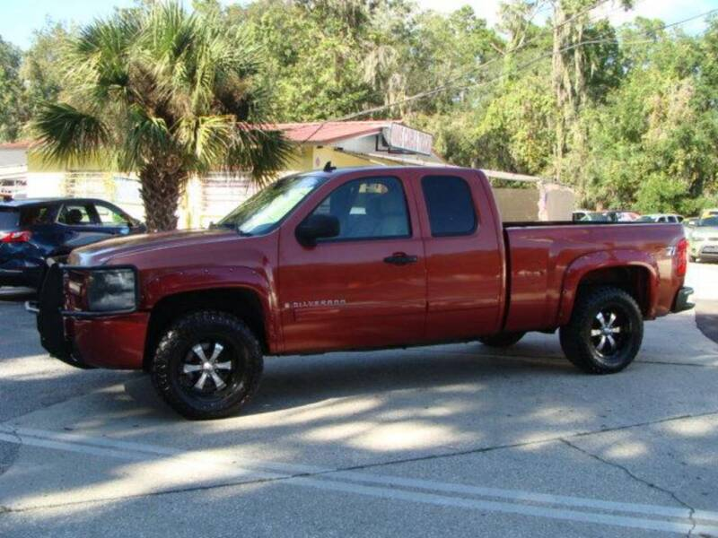 2007 Chevrolet Silverado 1500 for sale at VANS CARS AND TRUCKS in Brooksville FL