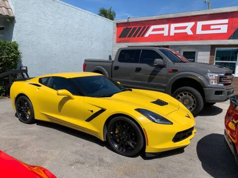 2018 Chevrolet Corvette for sale at Auto Remarketing Group in Pompano Beach FL