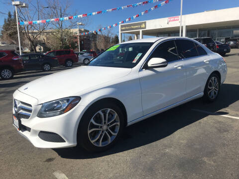 2016 Mercedes-Benz C-Class for sale at Autos Wholesale in Hayward CA