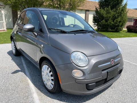 2013 FIAT 500 for sale at CROSSROADS AUTO SALES in West Chester PA