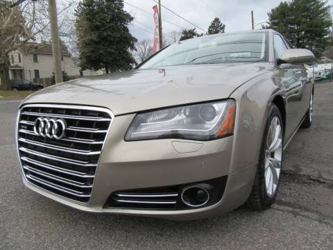 2013 Audi A8 L for sale at PRESTIGE IMPORT AUTO SALES in Morrisville PA