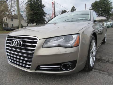 2013 Audi A8 L for sale at PRESTIGE IMPORT AUTO SALES in Morrisville PA