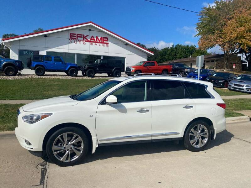 2015 Infiniti QX60 for sale at Efkamp Auto Sales LLC in Des Moines IA