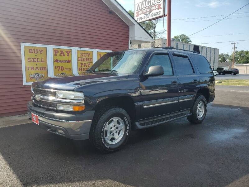 2004 Chevrolet Tahoe for sale at Mack's Autoworld in Toledo OH