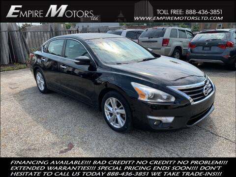 2013 Nissan Altima for sale at Empire Motors LTD in Cleveland OH