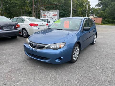 2008 Subaru Impreza for sale at United Auto Service in Leominster MA