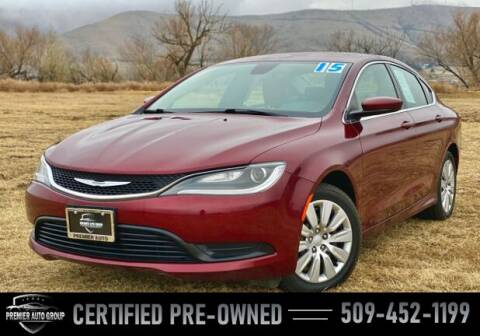 2015 Chrysler 200 for sale at Premier Auto Group in Union Gap WA