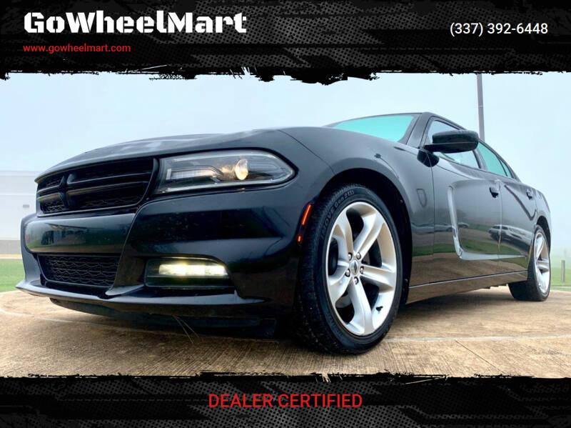 2017 Dodge Charger for sale at GoWheelMart in Leesville LA