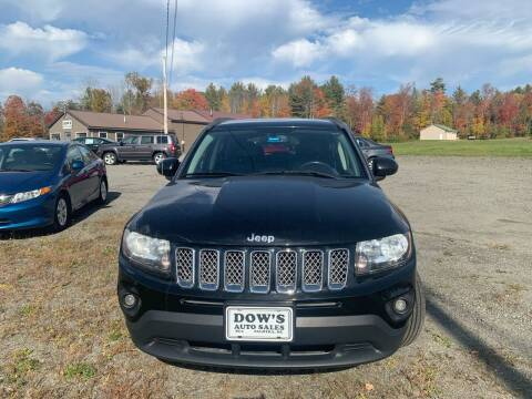 2014 Jeep Compass for sale at DOW'S AUTO SALES in Palmyra ME