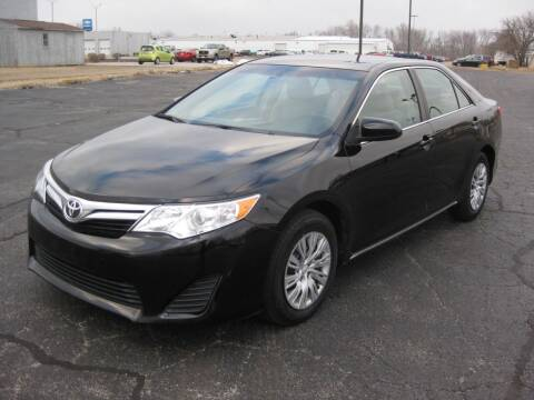 2012 Toyota Camry for sale at Pre-Owned Imports in Pekin IL