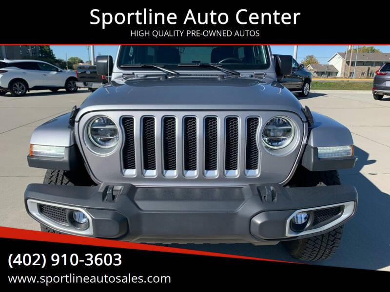 2020 Jeep Wrangler Unlimited for sale at Sportline Auto Center in Columbus NE