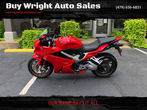 2014 Honda Interceptor for sale at Buy Wright Auto Sales in Rogers AR