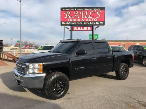 2012 Chevrolet Silverado 1500 for sale at RAUL'S TRUCK & AUTO SALES, INC in Oklahoma City OK