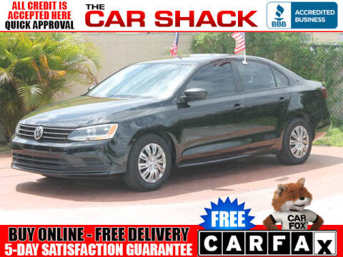 2016 Volkswagen Jetta for sale at The Car Shack in Hialeah FL