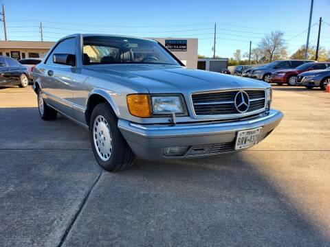 1989 Mercedes-Benz 560-Class for sale at Zora Motors in Houston TX