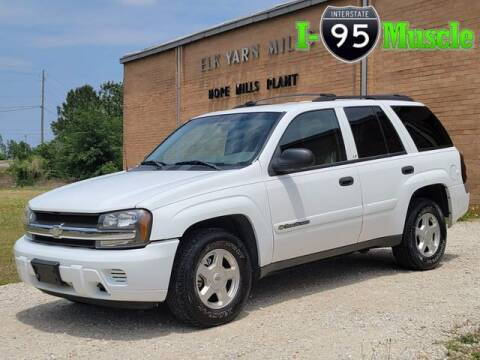 2002 Chevrolet TrailBlazer for sale at I-95 Muscle in Hope Mills NC