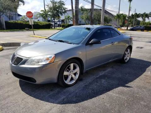 2007 Pontiac G6 for sale at Alma Car Sales in Miami FL