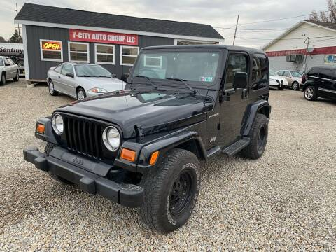 1999 Jeep Wrangler for sale at Y City Auto Group in Zanesville OH