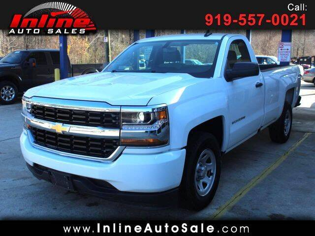 2017 Chevrolet Silverado 1500 for sale at Inline Auto Sales in Fuquay Varina NC