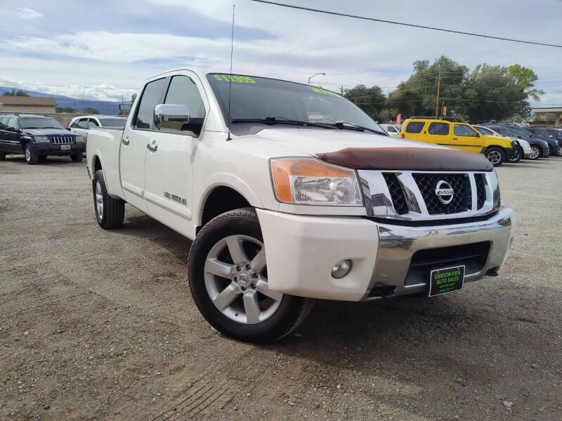 2009 Nissan Titan for sale at Canyon View Auto Sales in Cedar City UT